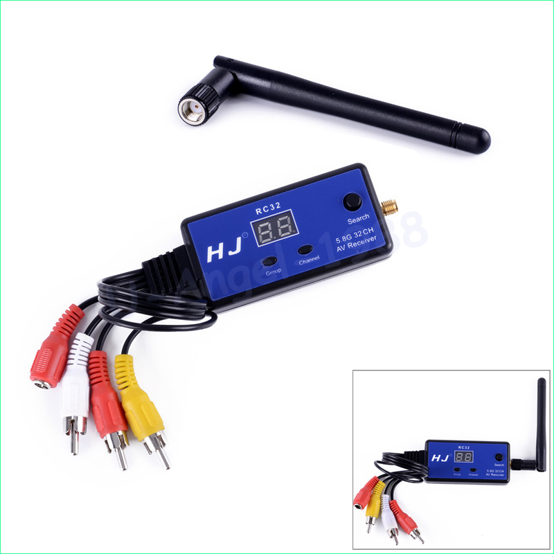 1set HJ HJ32TR RC32 5.8G 32CH Wireless FPV AV Receiver RC Receiver Drone Receiver For FPV RC Multicopter High Quality receiver