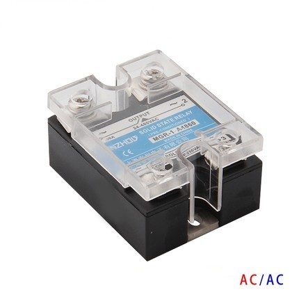 Solid State Relay Single-phase  A4860 MGR - 1  AC Control AC SSR 60AA ssr mgr 1 d4860 meike er normally open type single phase solid state relay 60a dc ac