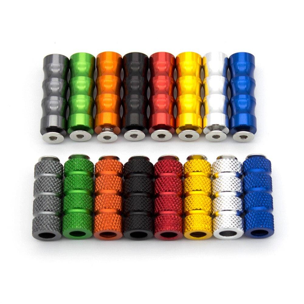 6mm Foot Peg Rear Set Footpeg Pedals For Yamaha YZF R1 R6 R3 R25 R125 MT03 MT07 MT09 MT-07 MT-09  XSR 900 FZ1 R15