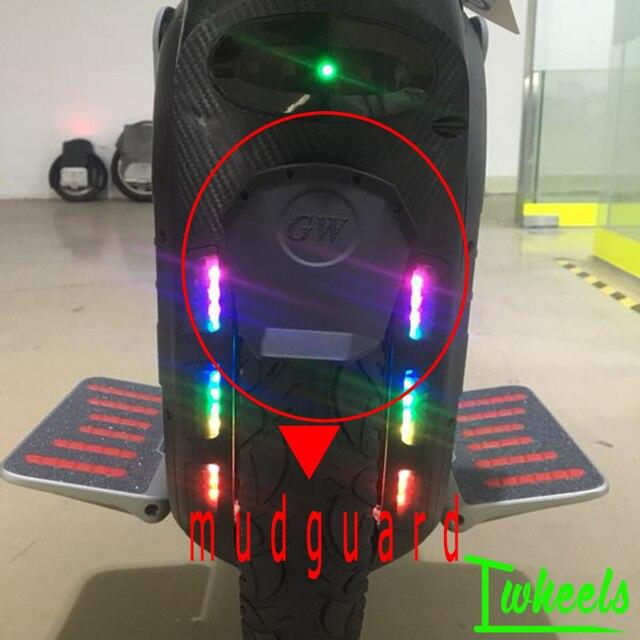 Guardabarros eléctrico de monociclo Original para Msuper X Msuper 3 accesorios de repuesto de carretilla