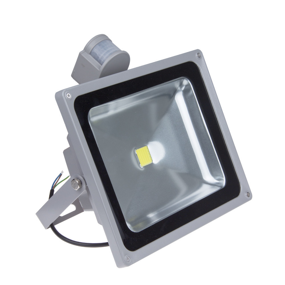 10W 20W 30W 50W LED Outdoor Floodlight Warm White Cold White Waterproof IP65 PIR Motion Sensor Landscape Lamp