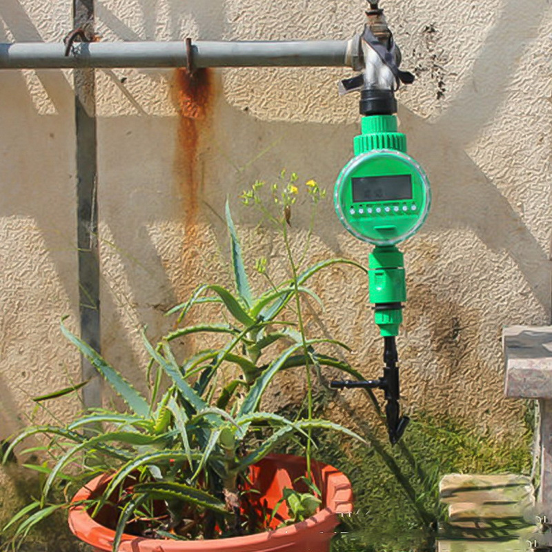 Image 5 - Automatic Smart Irrigation Controller  LCD Display Watering Timer Hose Faucet Timer Outdoor Waterproof Automatic On Off US UK-in Garden Water Timers from Home & Garden
