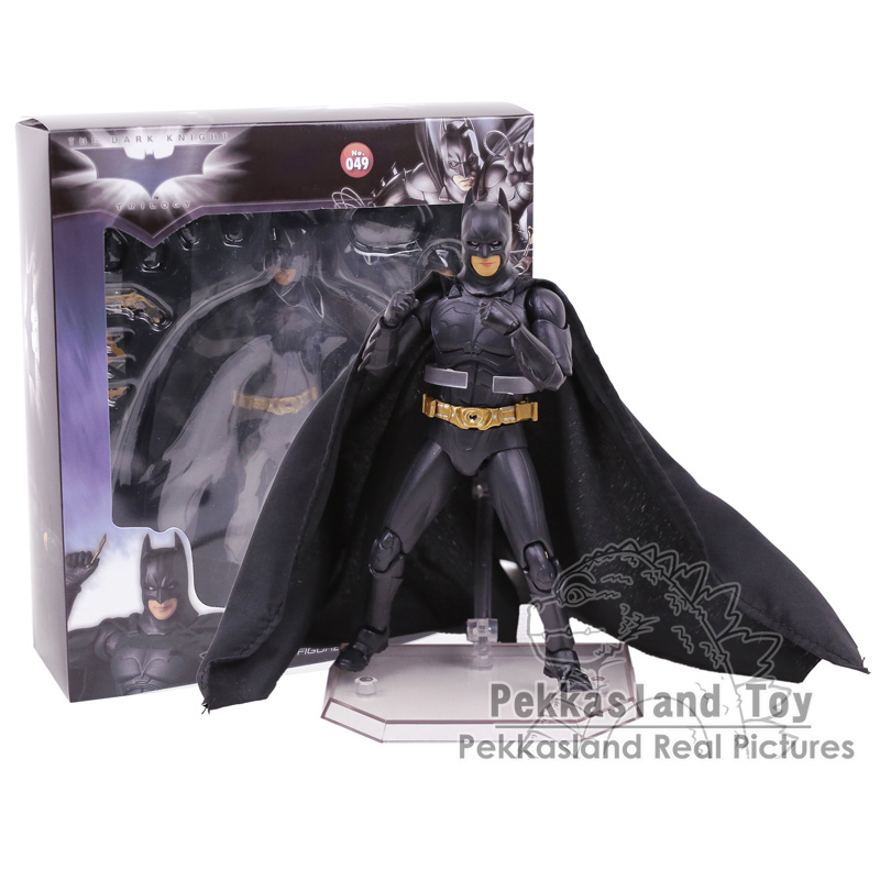 The Dark Night Batman Bruce Wayne Begins Suit Ver. PVC Action Figure Collectible Model Toy 18CM ...