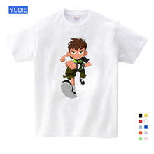 New Omnitrix Ben 10 Children and Shirt Baby T Toddler Summer Tops Boys Girls Cartoon 3T-9T YUDIE