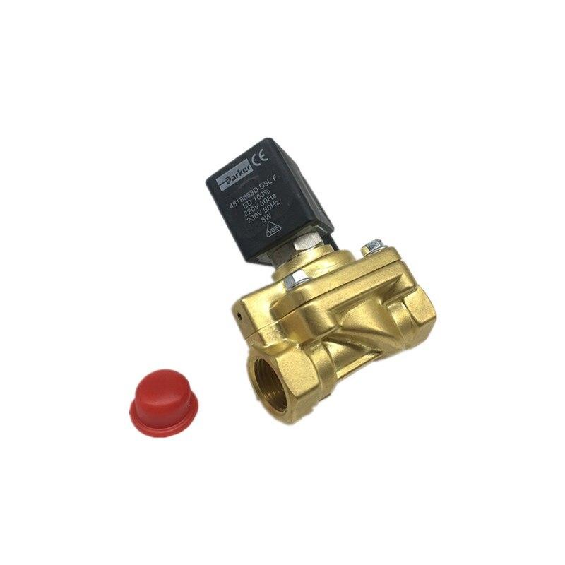все цены на Original genuine Parker pneumatic solenoid valve 321H35 blower high pressure solenoid valve 321H35 40bar DC24V онлайн