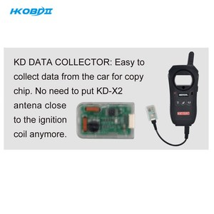 Image 2 - HKOBDII Keydiy KD DATA Collector Easy to collect data from the car for copy chip