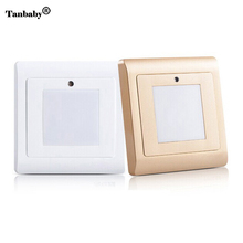 Tanbaby Light sensor stairs wall light led night lights SMD 2835 White