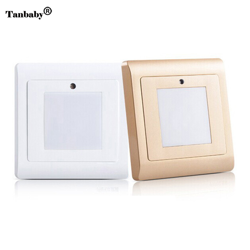 Tanbaby Light sensor stairs wall light led night lights SMD 2835 White light indoor bulb AC85-265V Emergency lamp lexing lx r7s 2 5w 410lm 7000k 12 5730 smd white light project lamp beige silver ac 85 265v