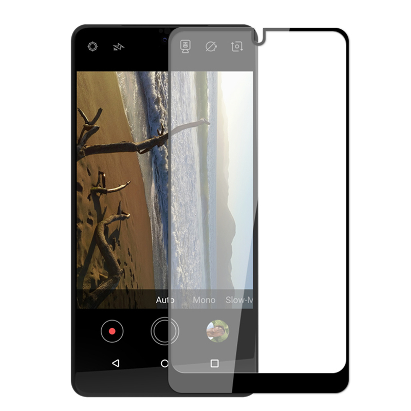 Full Cover Tempered Glass For Essential Phone PH-1 5.7 inch PH 1 PH1 Screen Protector Color Black Protective Film Guard(China)