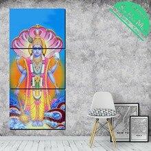 3 Шт. Богиня Лакшми Холст Декоративные Картины Стены Плакат Современные Настенные Панно для Гостиной Лучший!
