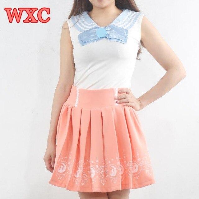 5f2d0522d3b Sailor Moon Ropa Kawaii De Anime Suit Cosplay School Girl Uniform Harajuku  Japanese Cute Clothes Lolita