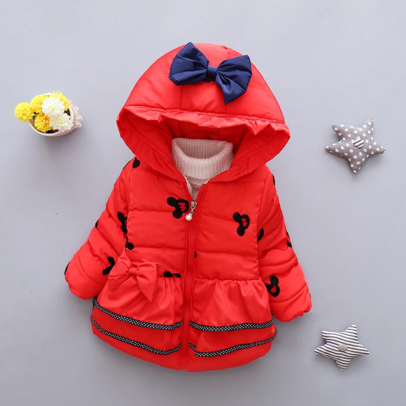 LZH Baby Girls Jacket 19 Autumn Winter Jacket For Girls Coat Kids Warm Hooded Outerwear Coat For Girls Clothes Children Jacket 11