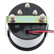 6037BL Volt Meter 2″ 52mm 8-16V 12V DC Blue LED Voltage Meter Gauge Voltmeter with Sensor for Car Boat Truck  ATV