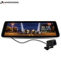 ANSHILONG 9,8 сенсорный экран Дисплей FHD 1080 P Видеорегистраторы для автомобилей потокового зеркало заднего вида монитор с специальные OEM Кронштей