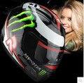 Бренд motoGP Хорхе Лоренцо malushun мотоциклетный шлем полной стороны шлема гонки шлем moto motociclistas каско capacete DOT fre