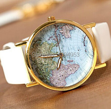 2016 Direct Selling Sale Hardlex Alloy 10mm To 19mm Unisex Relogios Femininos World Map Watches Quartz Fashion & Casual Watch