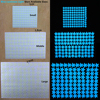 100pcs Fluorescent Glow in the Dark Stars Wall Stickers for Kids Rooms