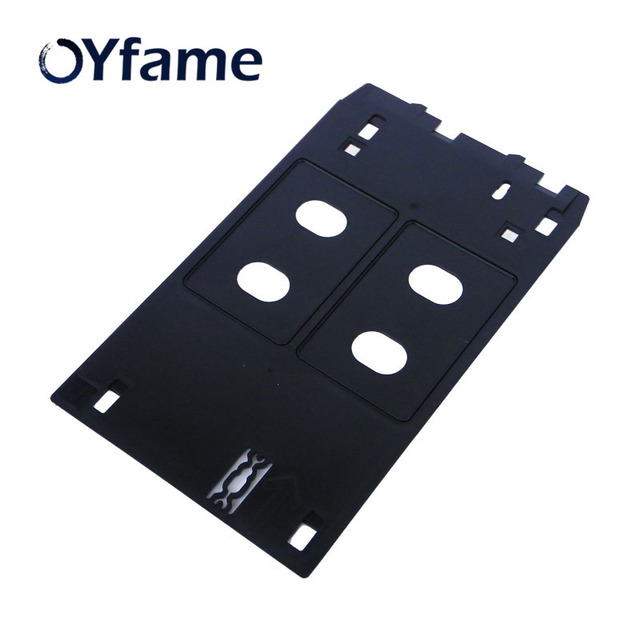 OYfame J סוג PVC תעודת זהות מגש עבור Canon IP7120 IP7130 IP7180 IP7240 IP7200 IP5400 MG5420 MG5430 מדפסת פלסטיק מזהה כרטיס מגש