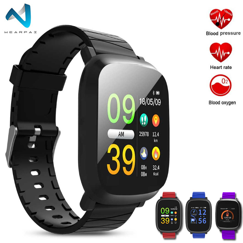 Wearpai Bluetooth Smart Watch Men M30 With Color Screen Digital Watch  sport Fitness Tracker heart rate monitor For IOS iPhone