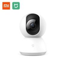 Оригинальный Xiaomi Mijia Smart камера 1080 P IP веб-камера видеокамера 360 Угол Wi Fi Беспроводной ночное видение AI Enhanced обнаружения движения
