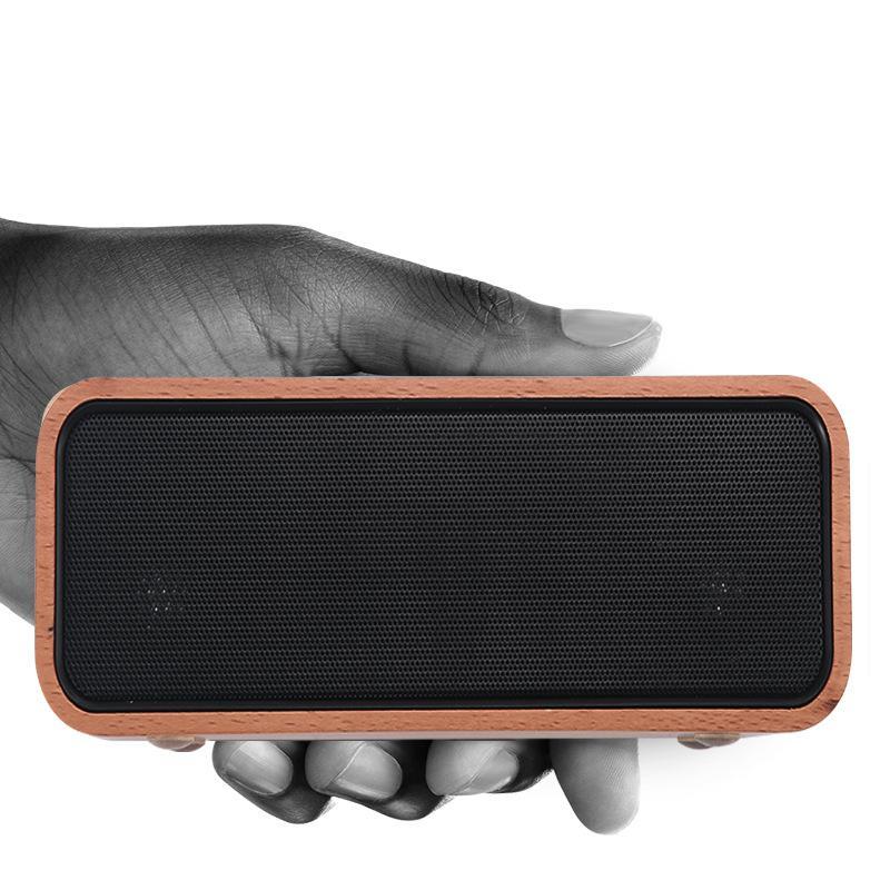 New Ure Solid Wood Bamboo Fm Radio Bluetooth Wireless Speaker Tf Card Reader Soundbar with Subwoofer YYS-S18 цена