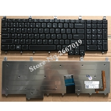 US New Replace laptop keyboard For Dell For Alienware M17X R