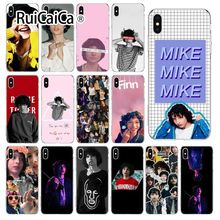 Ruicaica Finn Wolfhard Stranger Things Arrived Transparent Cell Phone Case for iPhone 6S 6plus 7 7plus 8 8Plus X Xs MAX 5 5S XR