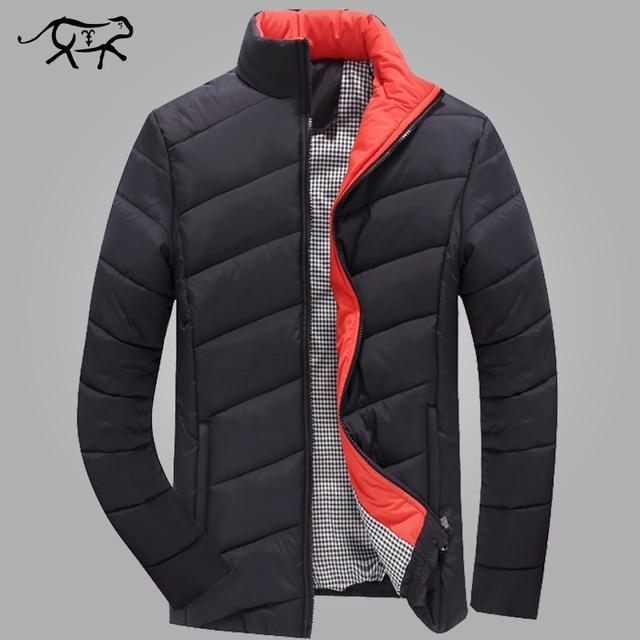 2017 Outono e Inverno Homens Jaqueta Casaco Amassado Dos Homens Engrossar Moda Outerdoor Desgaste Roupas Casuais Masculino Outwear M-5XL tamanho Grande