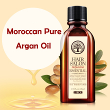 60ml Moroccan Pure Argan Oil Care Hair & Scalp Treatment Moisturizing Hair Easily Absorbed Oils Increase the Gloss Repair Hair