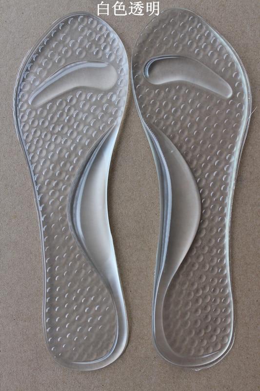 shoes insoles 1 pair gel heel insert 3 4 shoe pad