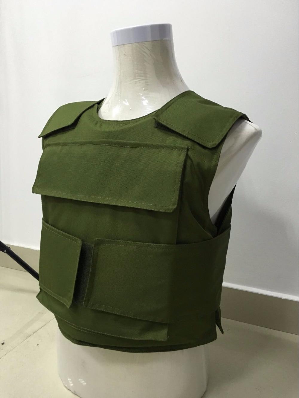 Amry Green Color Bulletproof Vest NIJ IIIA PE.UD
