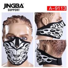 JINGBA SUPPORT Windproof Outdoor sport riding bike half face mask ski mask Halloween Skull cool mask Manufacturer Dropshipping