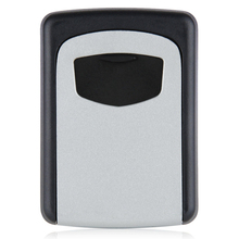 Wall Mounted 4 Digit Combination Key Storage Security Safe Lock Outdoor Indoor