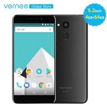 Vernee M5 4 GB RAM 64 GB 5.2 inç IPS Ekran 4G LTE Cep Telefonu MT6750 Octa Çekirdek 3300 mAh Android 7.0 13MP Parmak Izi Cep Tel...