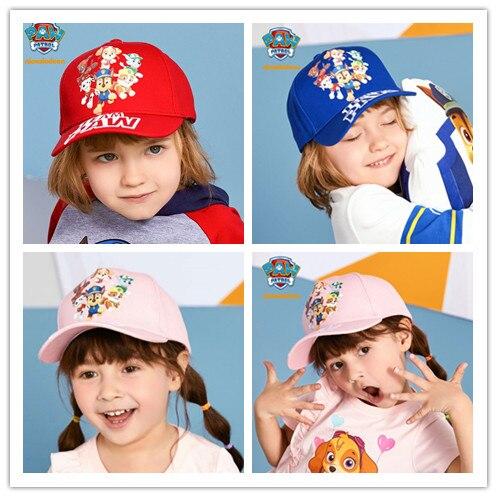 2019 Genuine Paw Patrol Everest high quality flat Hip Hop Snapback cap kids fashion Sun hat Children toy birthday Christmas gift costumi moda 2019