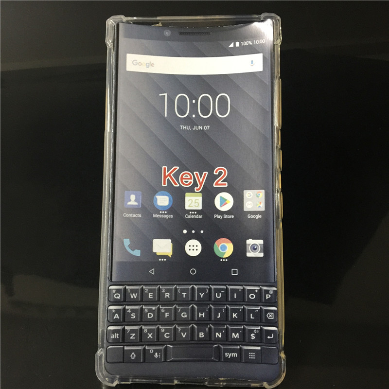 BlackBerry Transparent Soft Back Cover 1