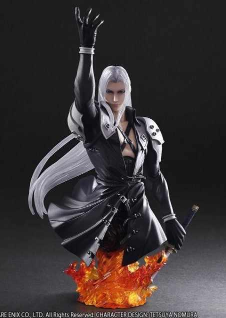 Final Fantasy Vii 7 Sephiroth Half Body Statue Pvc Action