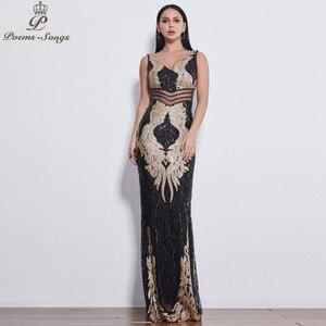 Image 1 - Đẹp Đôi Cánh Thiên Thần Đầm Váy ĐầM Dạ Nữ Dài Đầm Vestido De Festa Váy Dạ Hội Vestidos Đầm Vestido De Festa Longo