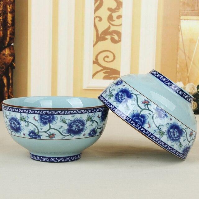Guanfu Chinesischen Grün Alte Porzellan Keramik Glasur Schalen In Glasur  Dekoration 3,5