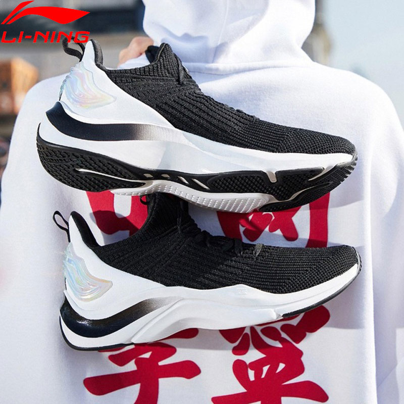 Li Ning Women DABOOM LOW Lifestyle Shoes Sock Like Mono Yarn Comfort LiNing Sport Shoes Leisure