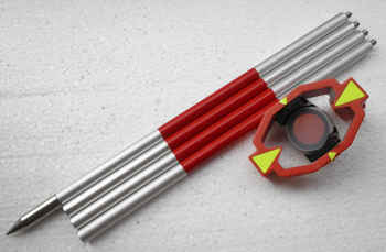 Brand New mini Prisma con 4 Poli Per Stazioni Totali costante prisma offset 0 millimetri