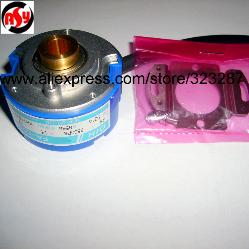 цена на NEW Rotary Encoder OIH 48-2500P8-L6-5V TS5214N8566 BRAND-NEW IN ORIGINAL PACKAGING