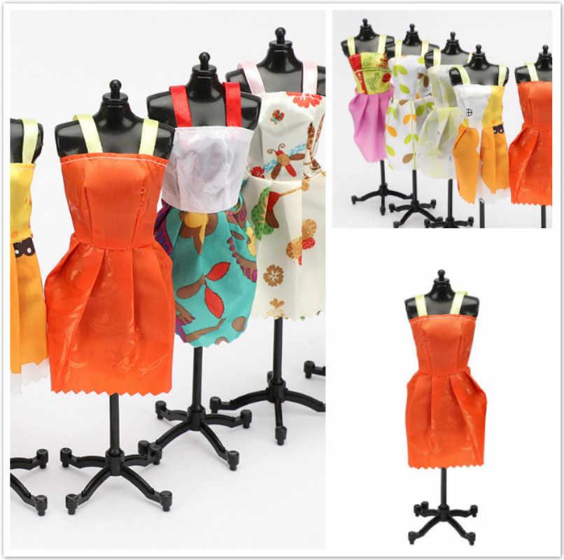 1 pcs את צהוב בובת החדש אביזרי שמלה יפה תלבושת בעבודת יד מסיבת בגדי חצאית ברבי נובל הטוב ביותר ילד 'Gift