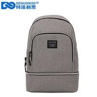DENUONISS Creative Insulation Bag Slanting Korean Version Cooler Bag Multi function Eva Cooler Backpack Cool Bag