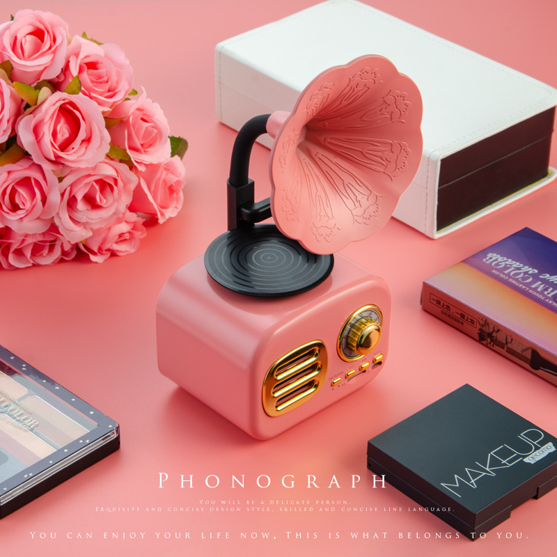 Retro-Gramophone-Bluetooth-Speaker-Wireless-FM-Radio-Support-FT-Cards-Long-Standby-Speakers-Good-Gift-p30 (3)