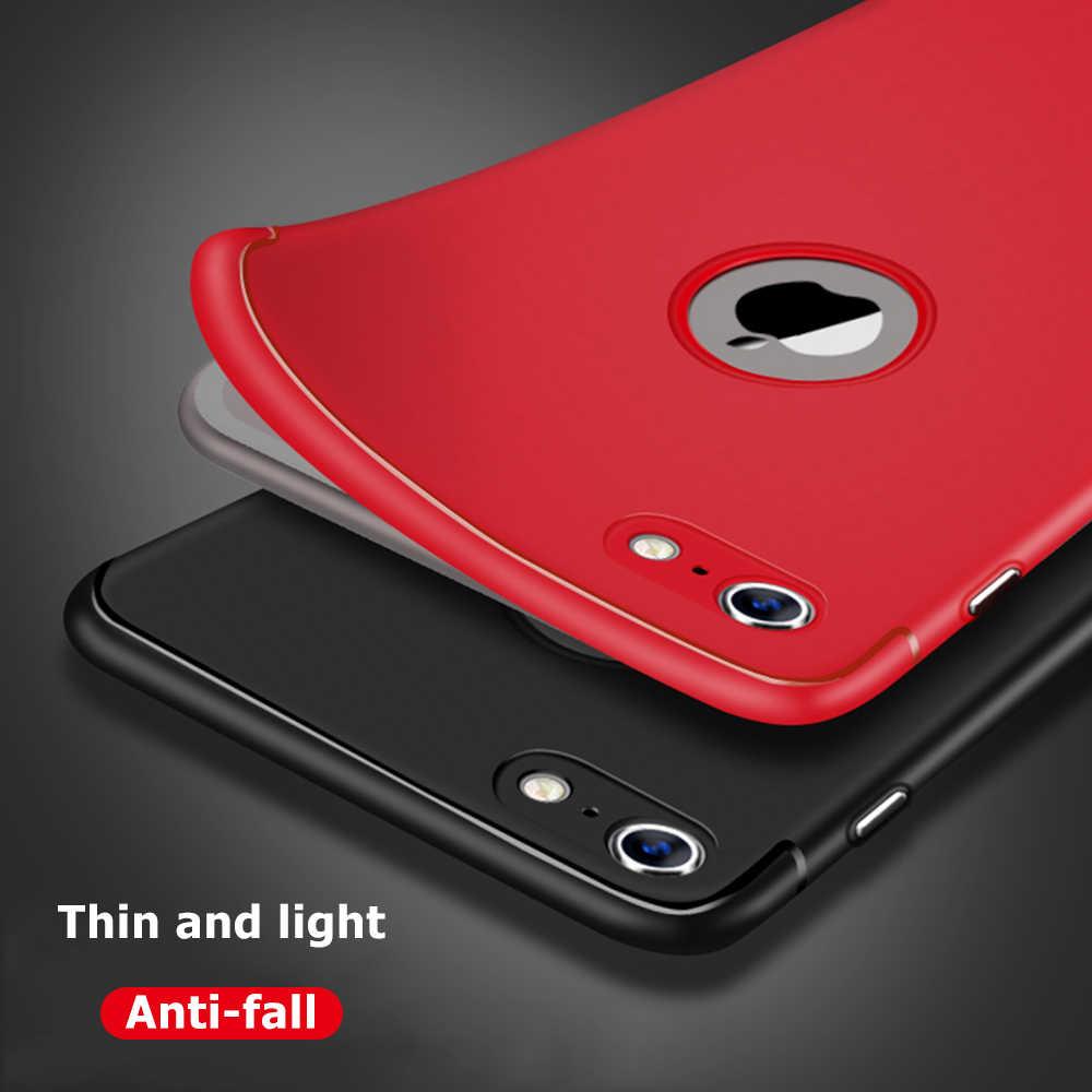 シリコーン電話ケース iphone 6 s 6 s 7 8 プラスソフト TPU マット超薄型裏表紙 iPhone 8 7 プラス 7 プラス 8 プラスケースシェル