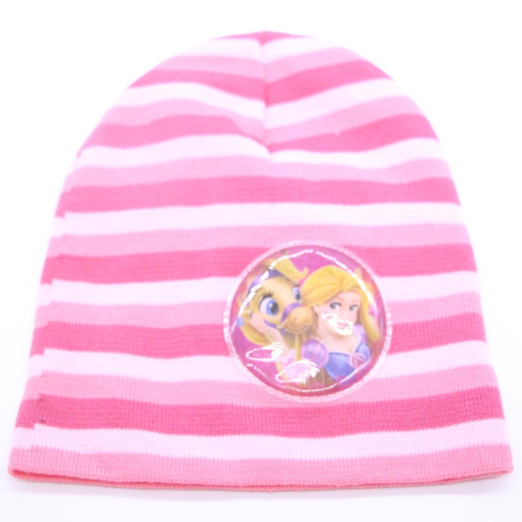 9f6a6413 Baby Kids 2019 Winter Warm Hat Rapunzel Princess Cartoon Character Printed