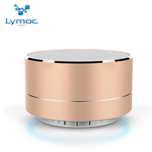 LYMOC Subwoofer Bluetooth Speaker Metal Mini Portable Wireless Speakers Light HIFI Heavy Bass Music Play for iPhone Xiaomi