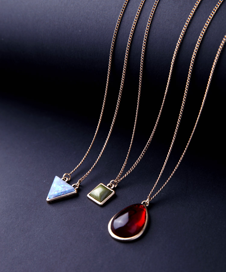 JOOLIM Jewelry Wholesale 3pcs set Removable Layered Necklace Delicate Necklace Factory supply free shipping in Pendant Necklaces from Jewelry Accessories