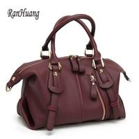 RanHuang New 2017 Women Large Handbags High Quality Pu Leather Handbags Women S Vintage Shoulder Bags